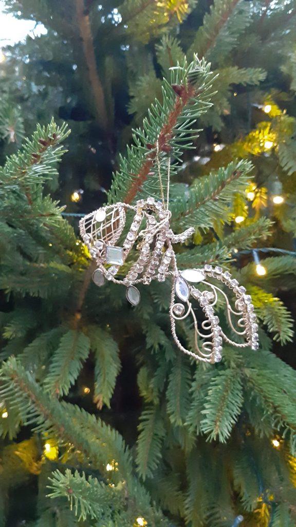 Fish Christmas decoration